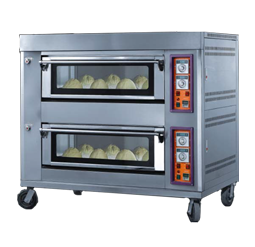 Gas Fire Deck Oven - 2-s