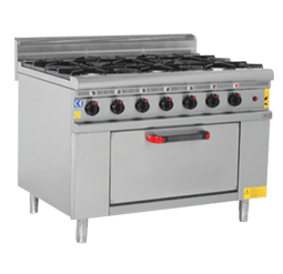 Gas Range with Oven-s