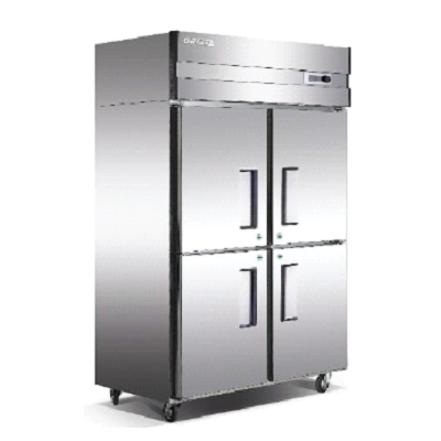 Four Door Vertical Chiller Freezer Jonree
